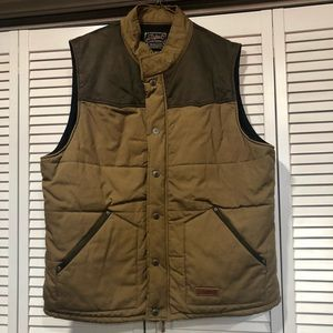 Rafter Thick Flannel Lined Western Vest